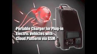 Portable Charger for Plug-in Electric Vehicles with Cloud Platform via GSM