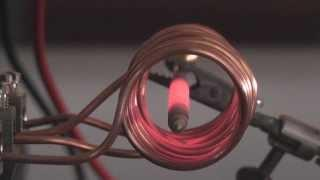 ZVS induction heating coil