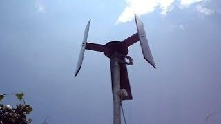 (3) How to build a P.M.A generator for a wind turbine V.A.W.T