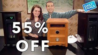 Best Infrared Heater, Electric Space Heater Sale ► The Deal Guy