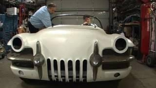 An EV Conversion, Bortz LaSalle Roadster, Baby's First Steps Part 4