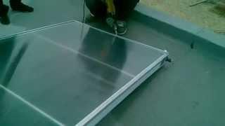 Boiler solar kalotron en 4 pasos basicos