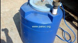 How to Make Homemade Biogas Digester Plant