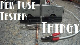 Diy Tesla Power Wall ep21 New Fuse Tester Thingy