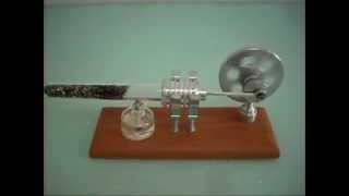 JA320-Lamina Flow Stirling Engine / Thermoacoustic Stirling engine