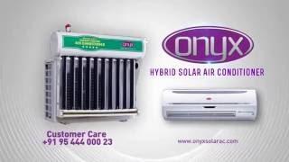 ONYX HYBRID SOLAR AIR-CONDITIONER