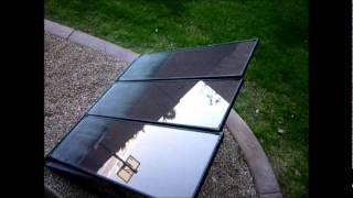 DIY SOLAR PANEL setup for 55 Watt panels - Coleman 55W Solar Back-Up Kit