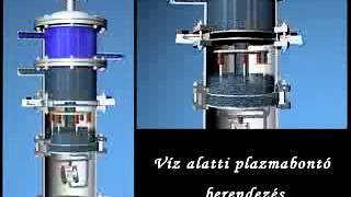 Animation - Submersible plasma reactor