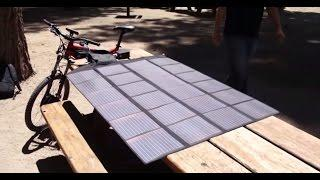 E-BIKE SOLAR PANELS WILDERNESS TEST BY HI TREK CYCLES