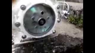 The Tesla Turbine First Run