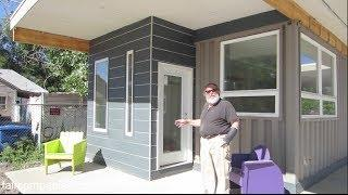 Shipping containers recycled into affordable, accessible Utah home