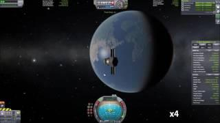 KSP ION engine  maneuver (30min)