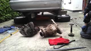 BMW E39 EV Conversion 24 Differential Dilemma