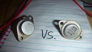Transistor Battle: 2N3055 VS. 2N5630 which is better for joule thief circuits?