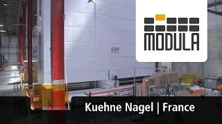 Modula Vertical Lifts increased productivity by 100% for logistics company Kuehne Nagel [France]