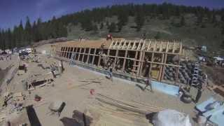 Big Sky Montana Earthship Build - Week 2 (May 13 - May 18, 2013)
