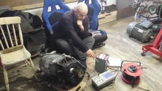 BMW E31 840CI EV Conversion 49 : Enova Motor Encoder