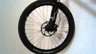 Nukeproof Mega AM wheel Generator Hub / Mavic XM 719 Disc Rim