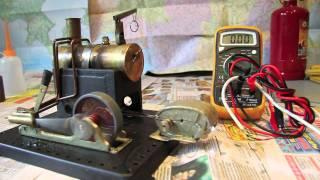 Steam powered phone charger
