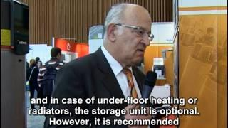 Heat pumps used to heat homes