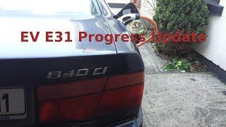 BMW E31 840CI EV Conversion 44 : Panzer Progress