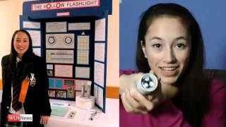 15-year-old Canadian girl invents flashlight powered only by body heat