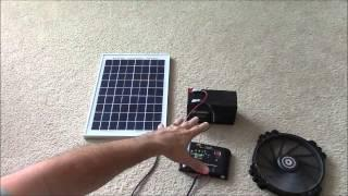 Solar Panel Systems for Beginners - Pt 1 How It Works & How To Set Up