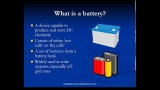 Solar Battery Backup: Solar Batteries and Solar Battery Bank in Solar Power Systems