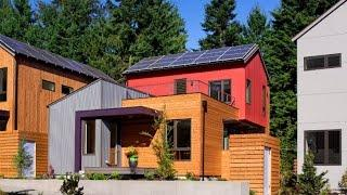 Grow Community is a Prefab Net-Zero Housing Development on Bainbridge Island