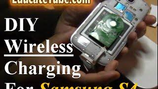 How to make DIY Wireless Induction Samsung S4 smartphone Wireless Charging System