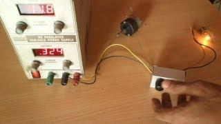 PWM  dimmer using 555  and MOSFET  - DIY aluminium case