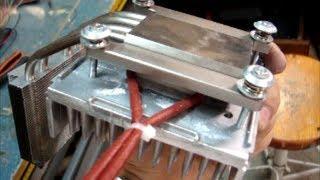 Thermoelectric Generator Peltier TEG Diy