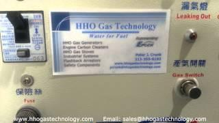 HHO Gas-Hexane-Compressed Air Cooking Stove Test 6-8-2014