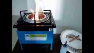 BIOMASS STOVE DEMO (HEALTH BLESSING STOVE)