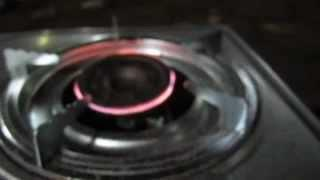 First Experimental Stove Using Zero current leaks HHO Generator