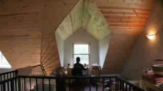 StrawBale.com: Tour of an Owner Built Straw Bale Post and Beam Home