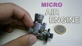 Micro Air Engine Test