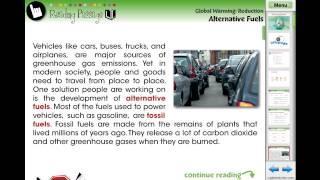 CC7749 Global Warming REDUCTION: Alternative Fuels Chapter Mini