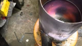 DIY home made aluminum foundry PART 1