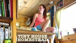 "Tiny House Homestead (""The Upcycled Micro Home"")"