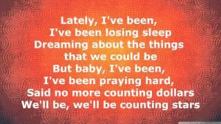 OneRepublic - Counting Stars [Lyrics]