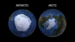 NASA | The Arctic and the Antarctic Respond in Opposite Ways