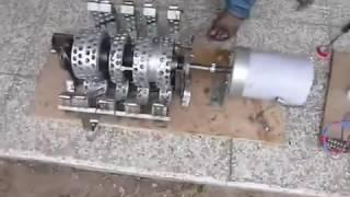 Free Energy Selfrunning Magnet Motor?