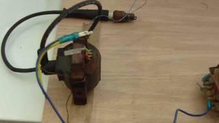 Plasma on a sparkplug