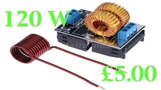 The £5 Ebay 120W low voltage induction heater review.