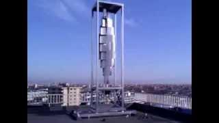 10 KW Vertical Axis Wind Turbine, Savonius type