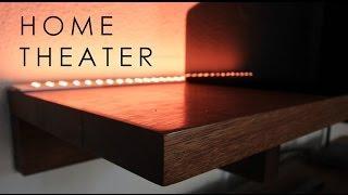 Home Theater LED Lighting & Speaker Set-Up