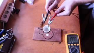 DIY Molten salt battery