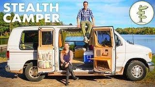 Van Life Tour - Solar Powered Off-Grid Camper Van on a Budget