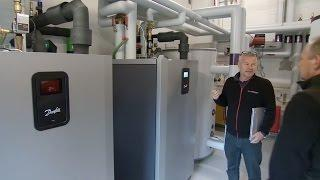 Energy project Gundsolillehallen with Danfoss heat pumps